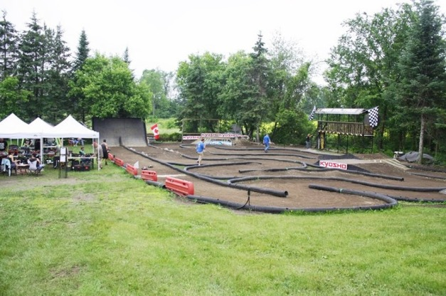 High Voltage RC Track. Hawkesbury, Ontario