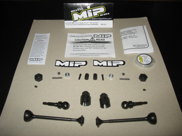 MIP Race Duty Front Traxxas Slash 4x4
