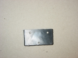 Mounting Plate with holes cut to match chassis
