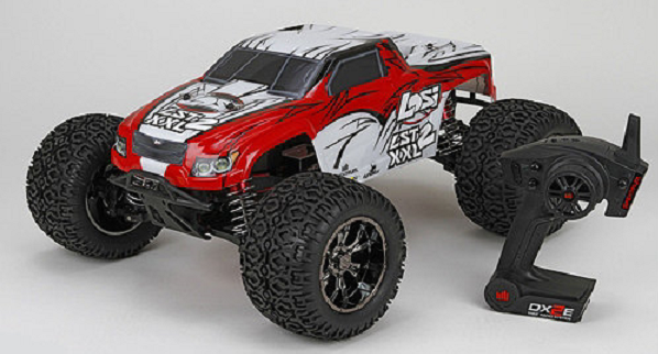 Losi LST XXL-2 Ready-to-Run: 1/8 4WD Gas Monster Truck. Part# LOS04002