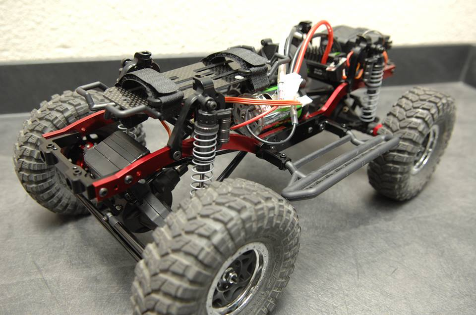 New Release Axial Scx10 Short Wheelbase Chassis