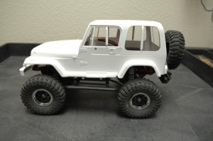 STRC Axial SCX10 Short Wheelbase Chassis Conversion kit3