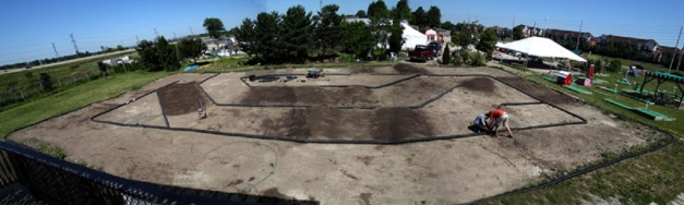 Sid's Raceway. Mississauga Ontario. 2012 Layout