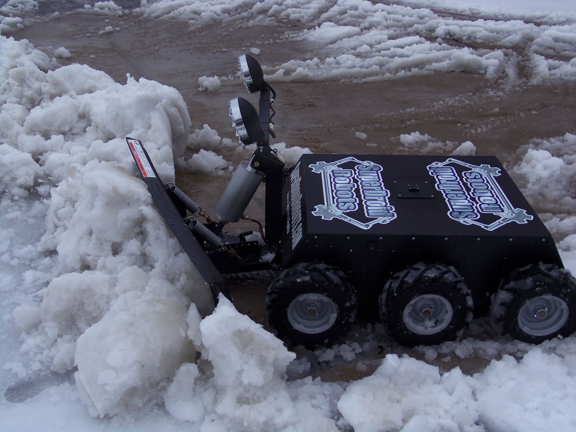 Snow Plough Car >> 6WD RC Snow Plow | Sackville RC