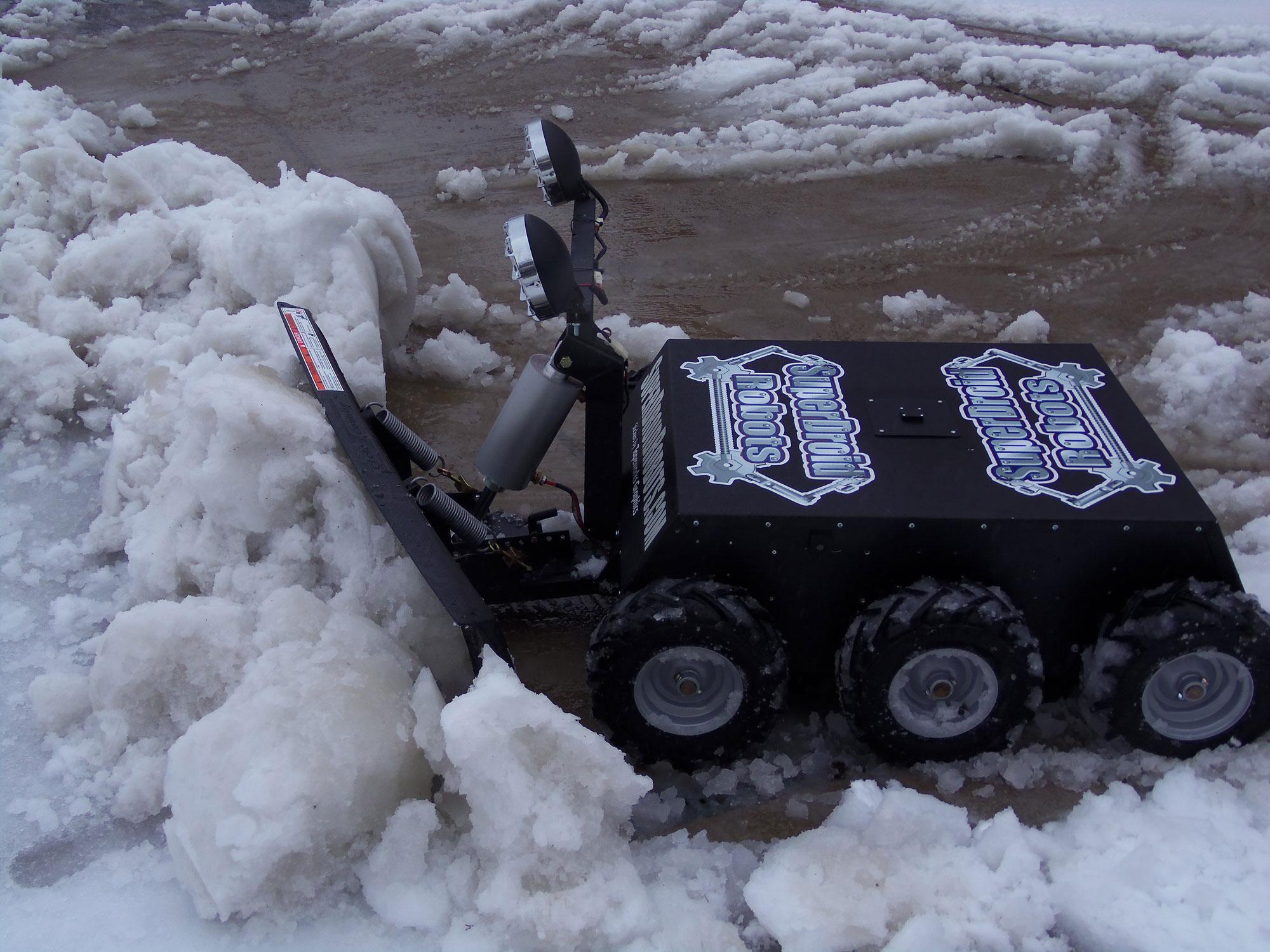 6WD RC Snow Plow