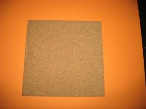 """Cork Tile 12"""" x 12"""""""