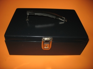 A Cash Box. Discard the coin tray you wont need it.