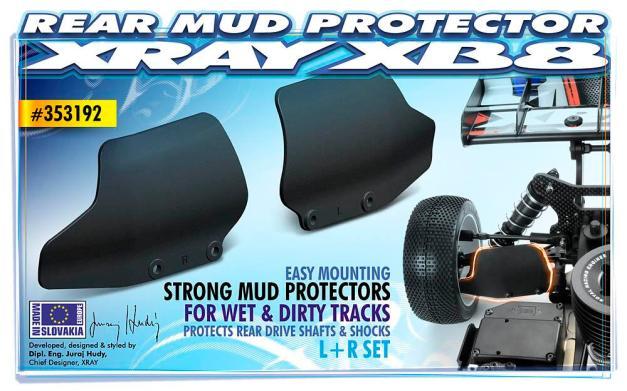 Xray XB8 Mud Flaps