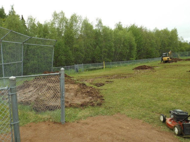 This is the Drivers Stand. At this point we will call it a Drivers Mound