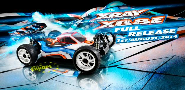 The all-new XRAY XB8E