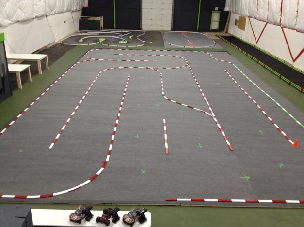 Road Rage Indoor RC Racing. Dartmouth, Nova Scotia