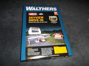 Walthers Skyview Drive-In. This should go nicely in that spot.